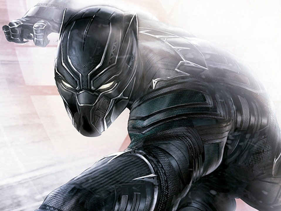 Black Panther concept from Marvel Studios
