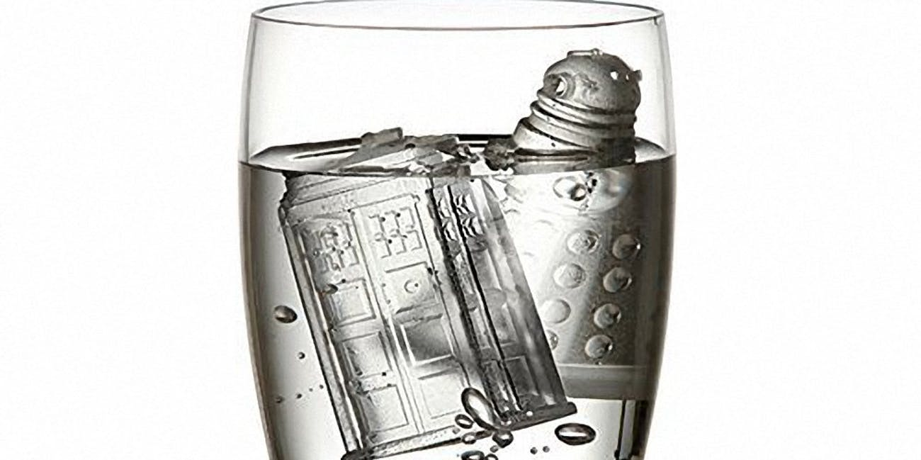 Doctor Who Ice Cubes Tray