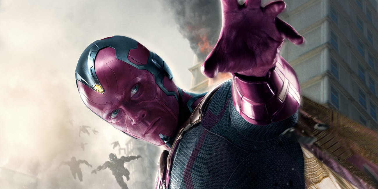 Avengers Infinity War Vision