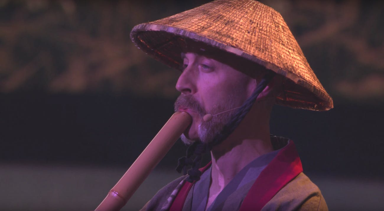 ghost of tsushima white guy e3 2018