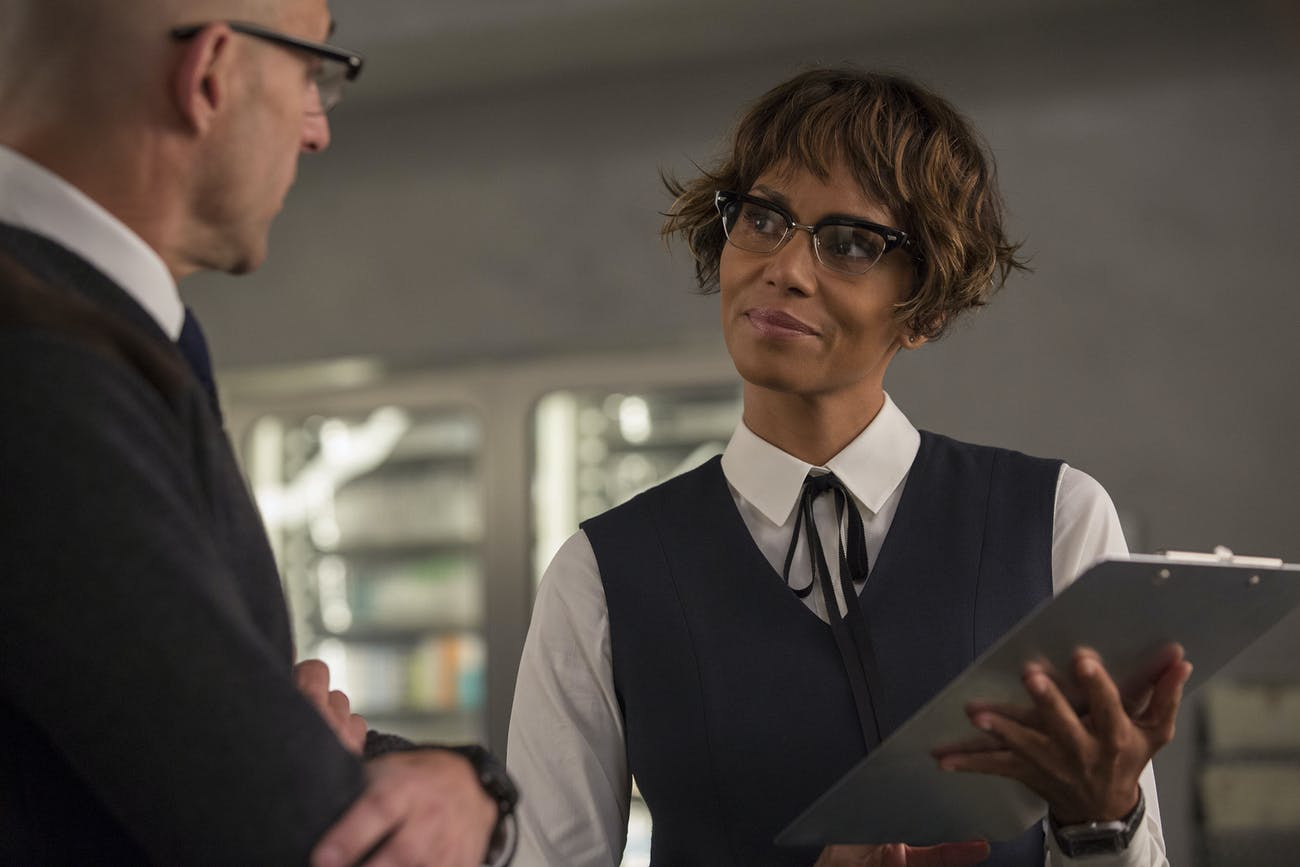 """Halle Berry's """"Ginger Ale"""" becomes the new """"Whiskey"""" field agent at the end of 'The Golden Circle.'"""