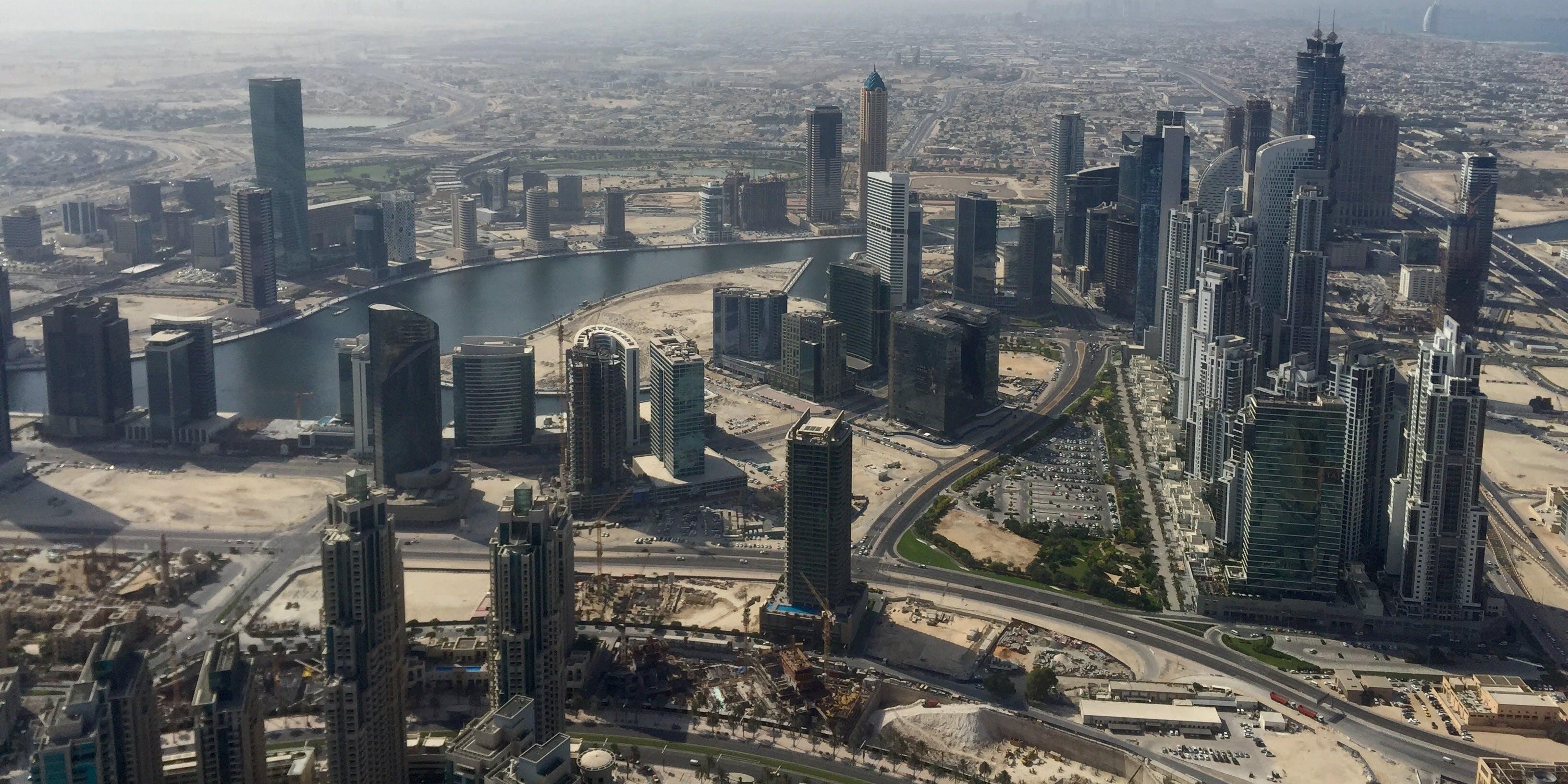 Dubuai's rapidly changing landscape includes an expanded Dubai Canal.