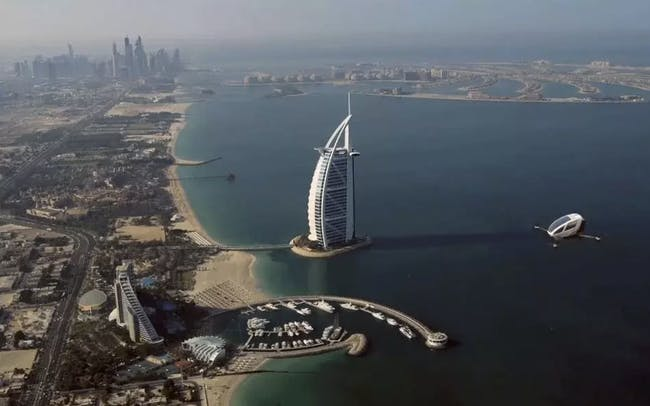 Dubai might have personal drone taxis next month.
