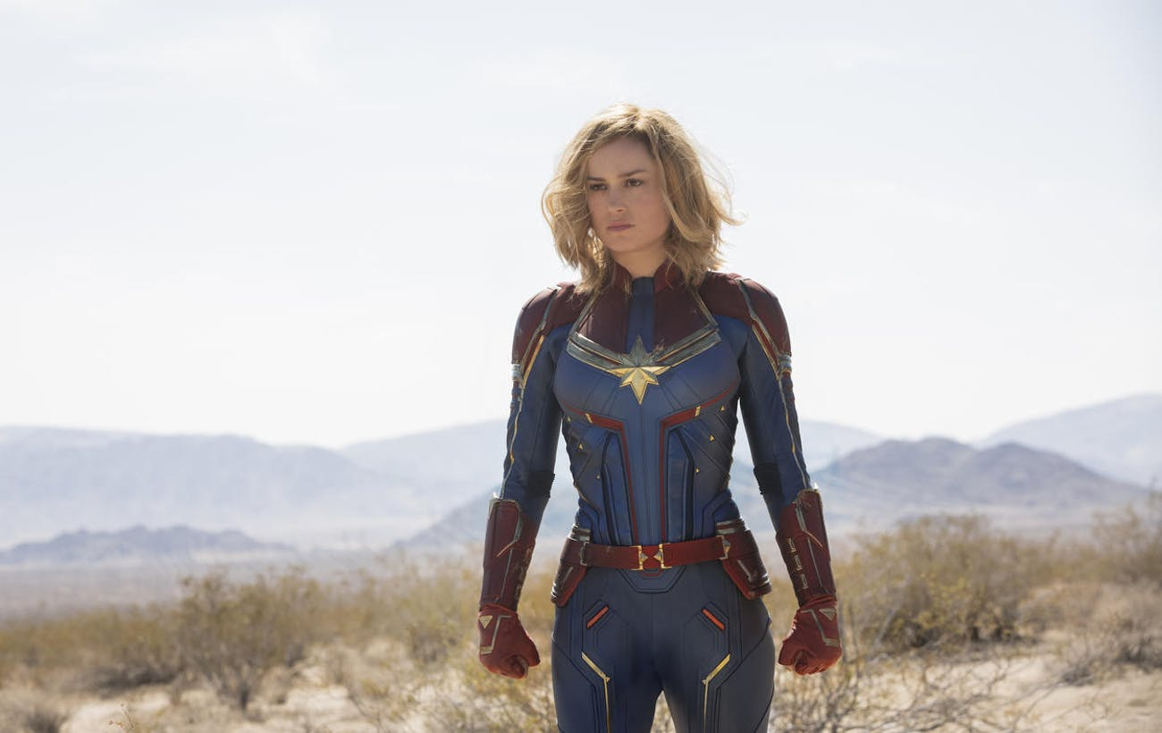 'Captain Marvel' Suit
