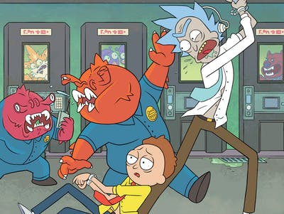 Check Out Free Comic Book Day's 'Rick and Morty' Special Issue
