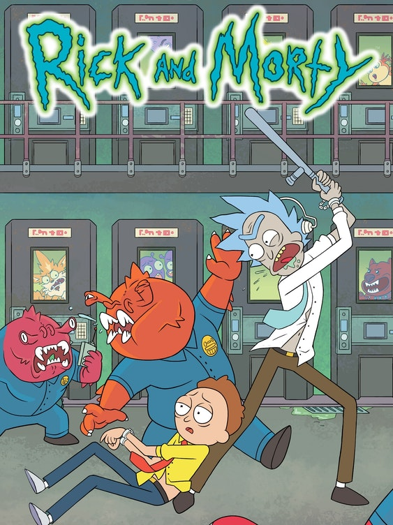 Check Out Free Comic Book Day S Rick And Morty Special Issue Inverse