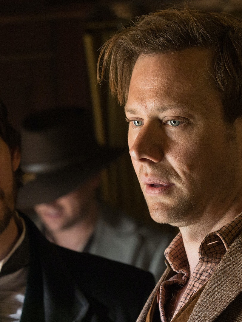 Ben Barnes and Jimmi Simpson in 'Westworld'