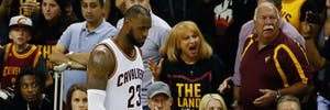 Lebron James Cleveland Cavaliers basketball nba finals 2017
