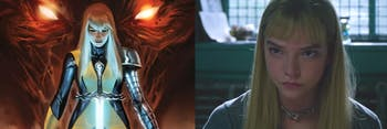 Anya Taylor-Joy as Magik in 'The New Mutants'.