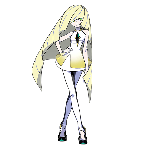 Lusamine, leader of the Aether Foundation