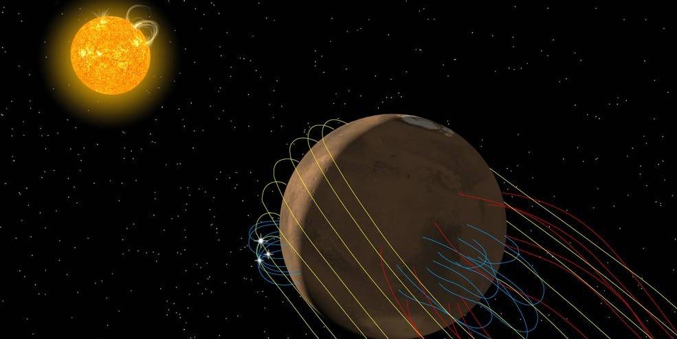"""Mars Has a Mysterious """"Tail,"""" According to New Find From NASA Spacecraft"""