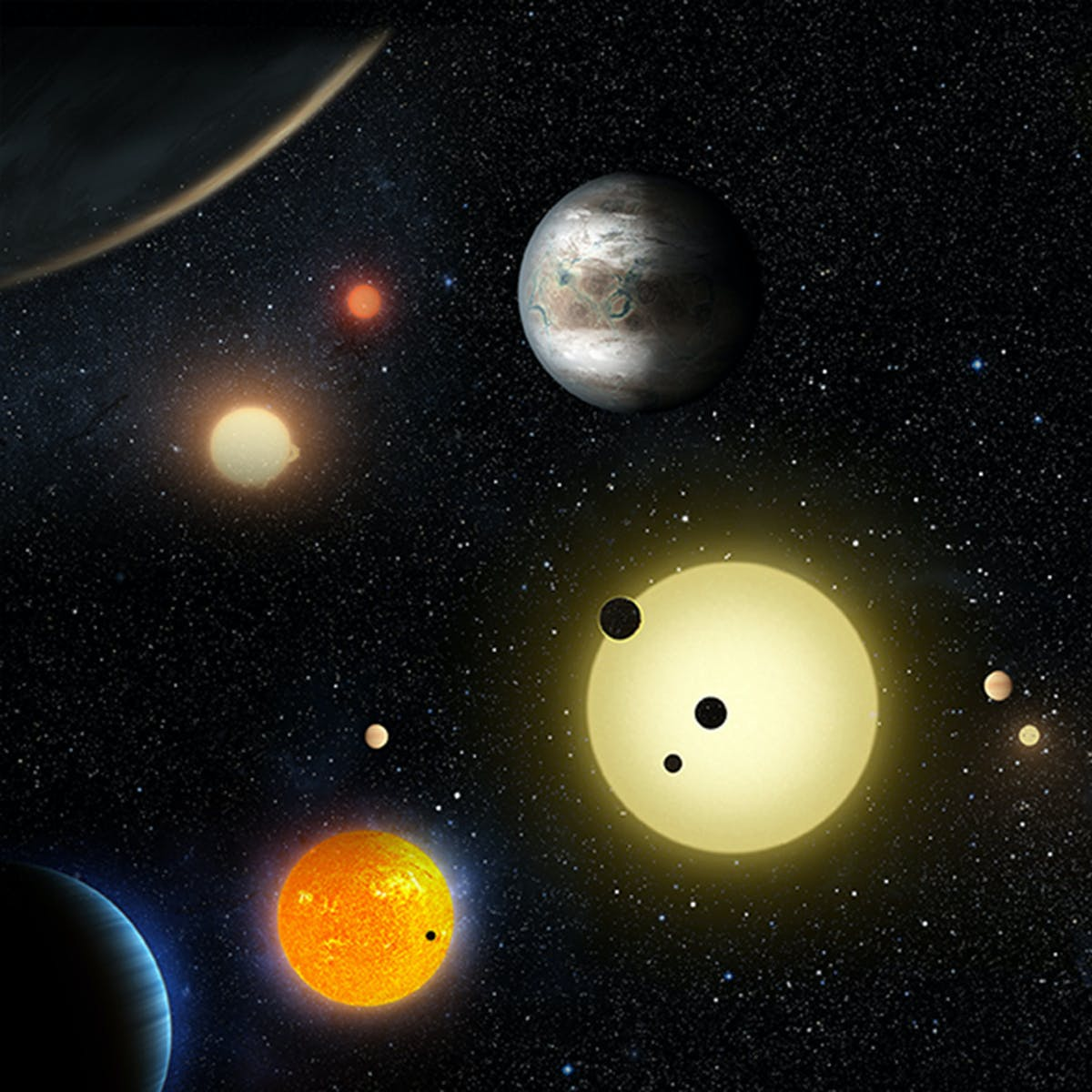 Nobel Physics Prize honors exoplanet hunters and mysteries of the universe