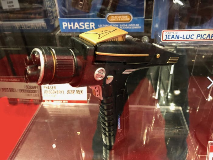 The new phaser toy at ToyFair 2018