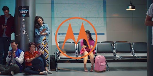 motorla phone commercial