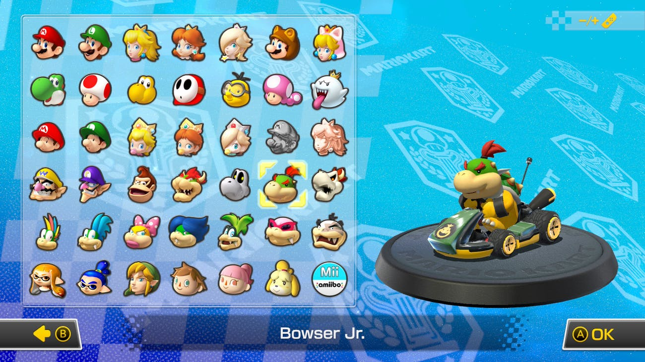 Every New Character In Mario Kart 8 Deluxe Inverse