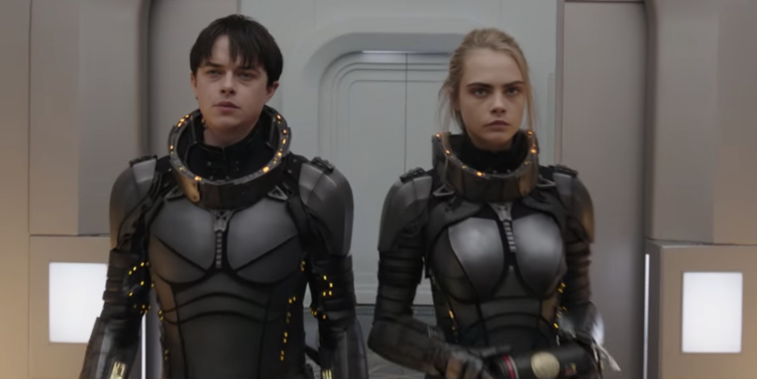 Dane DeHaan and Cara Delevingne in Luc Besson's 'Valerian.'