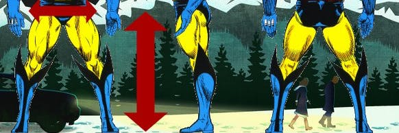 'Wolverine: The Long Night' reveals the size of Logan's pants.