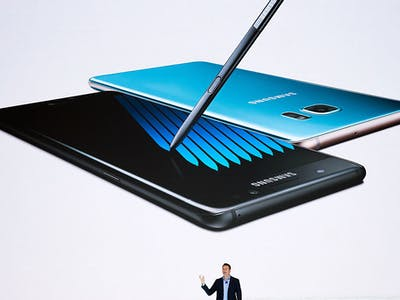 Samsung Is Recalling the Note 7 Over Exploding Batteries