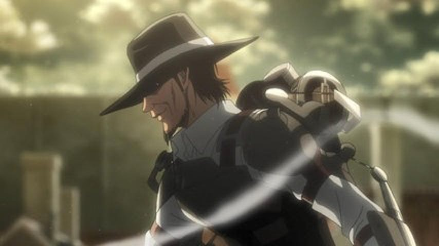Kenny the Ripper in 'Attack on Titan' Season 3.