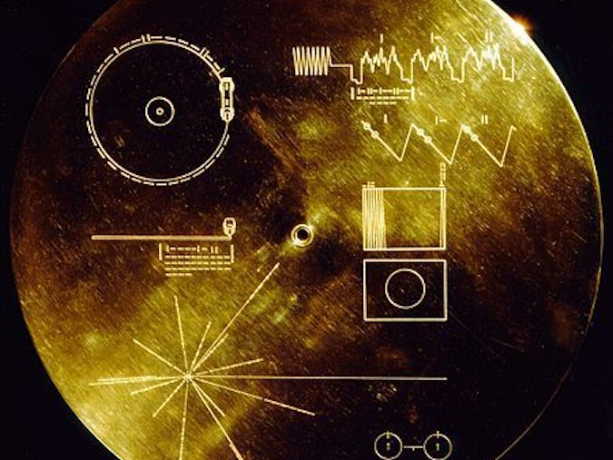NASA Golden Record Voyager