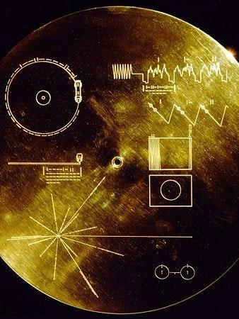 NASA Golden Record Voyager