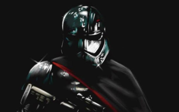 Captain Phasma Fan Art by Chris Seekell