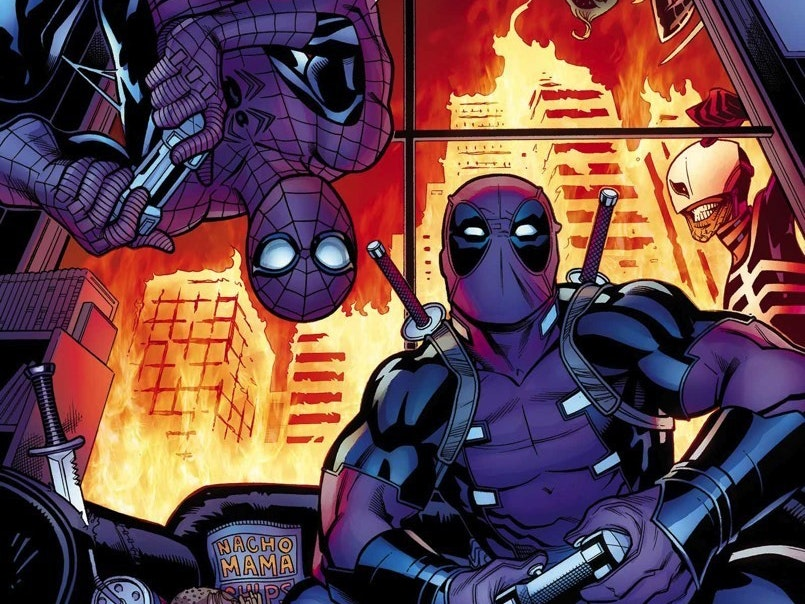 Deadpool and Spider-Man Play 'Overwatch' Together to Relax