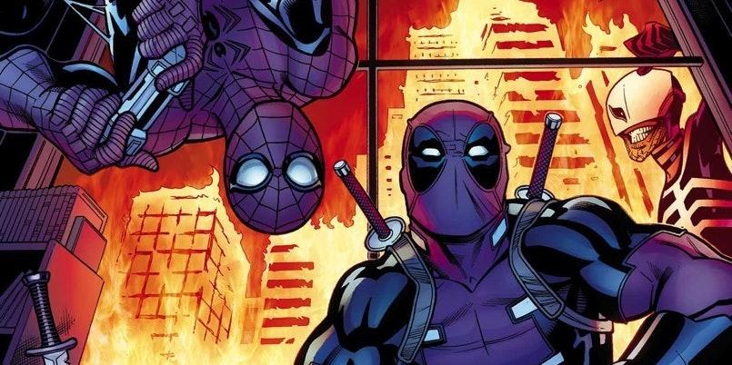 Cover for Marvel's Spider-Man/Deadpool #10