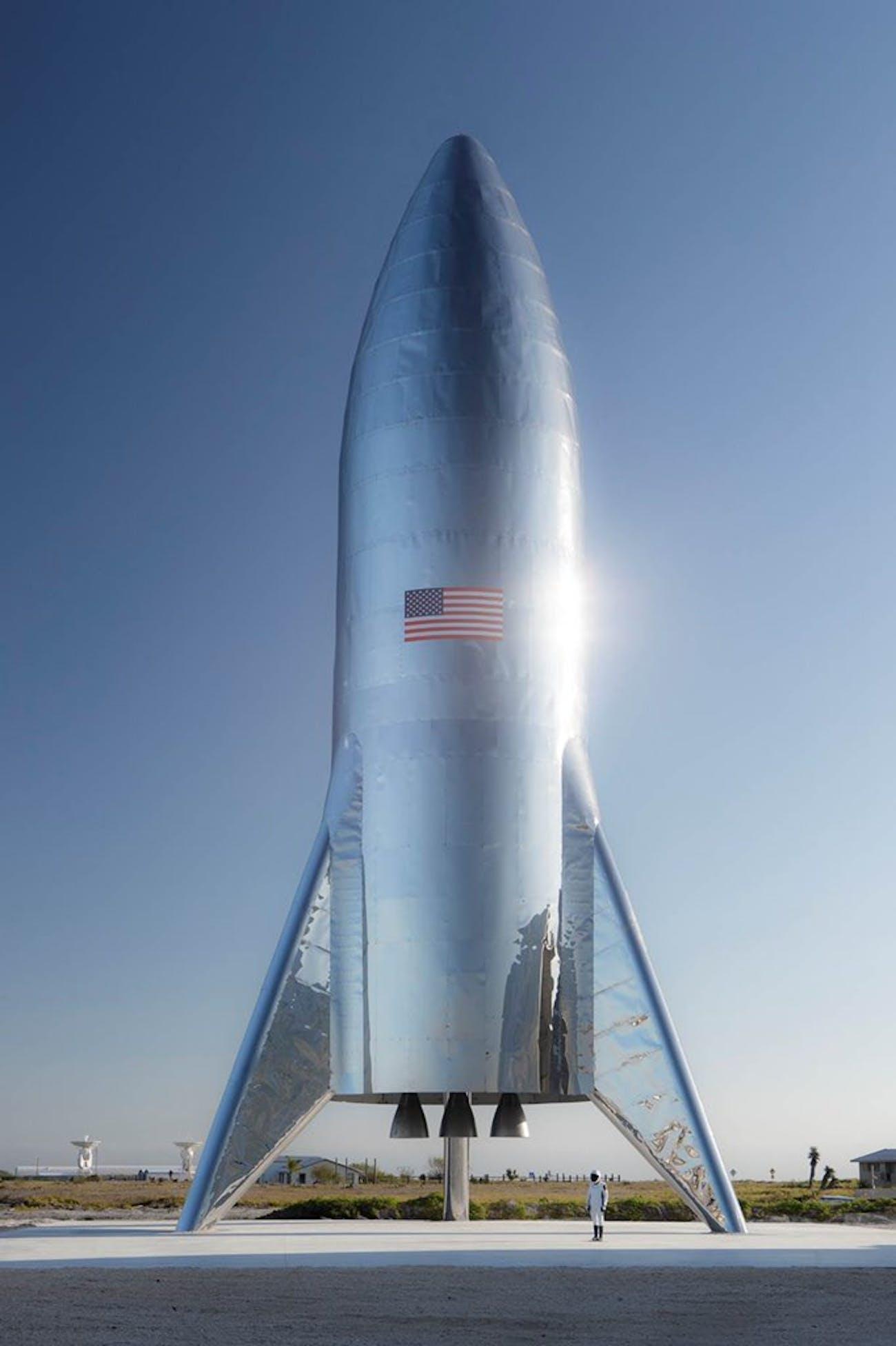 SpaceX's final Starship Hopper