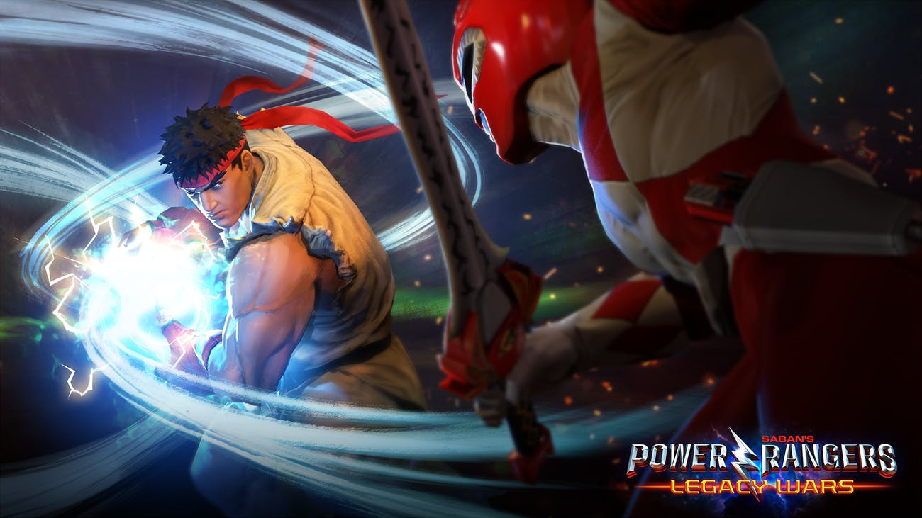 Power Rangers Street Fighter