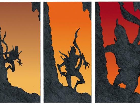 Exploring 'Alien': The Batshit Comic Crossover Stories