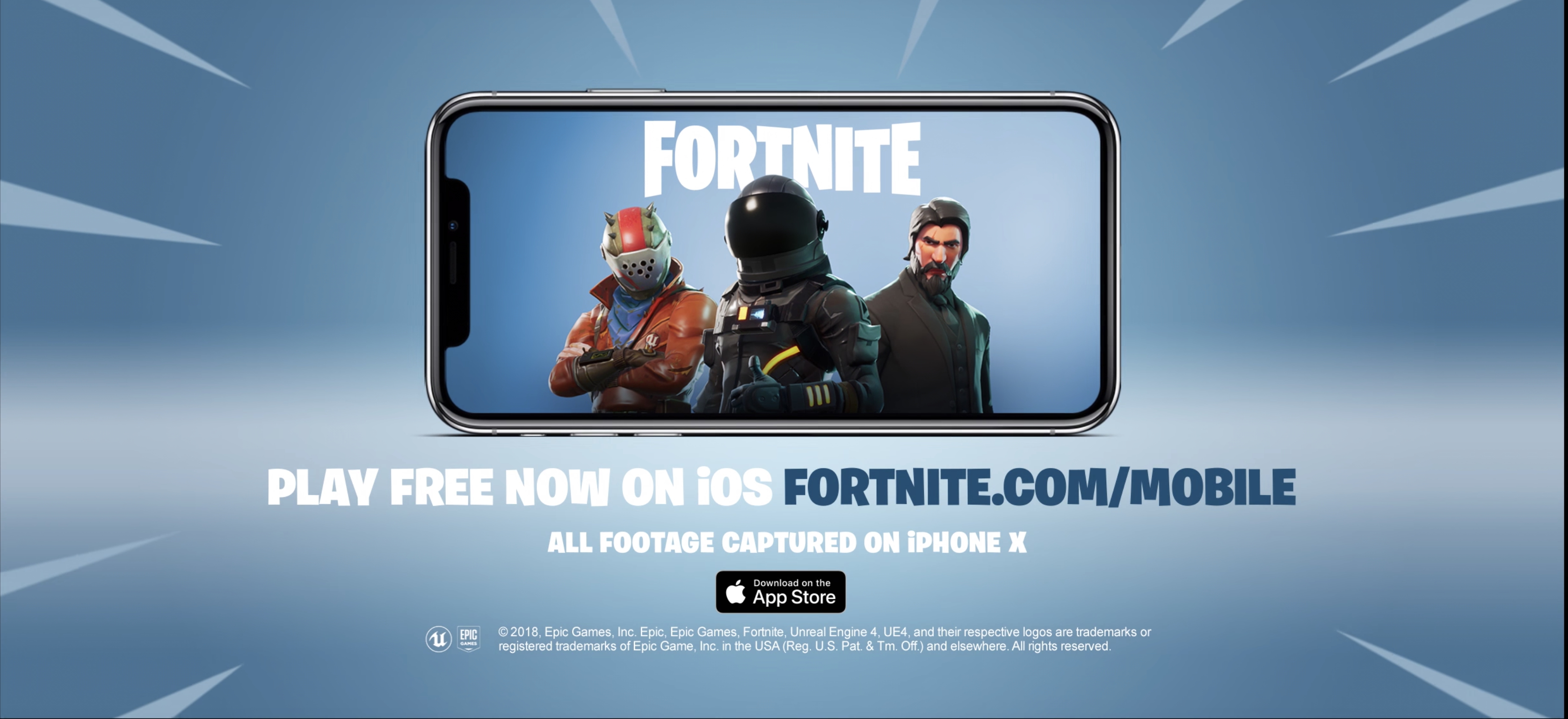 is fortnite on ios