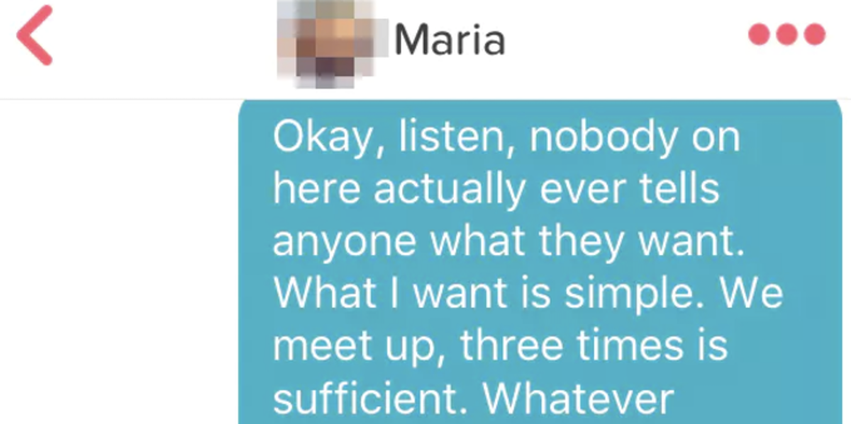 Dating app chat up lines