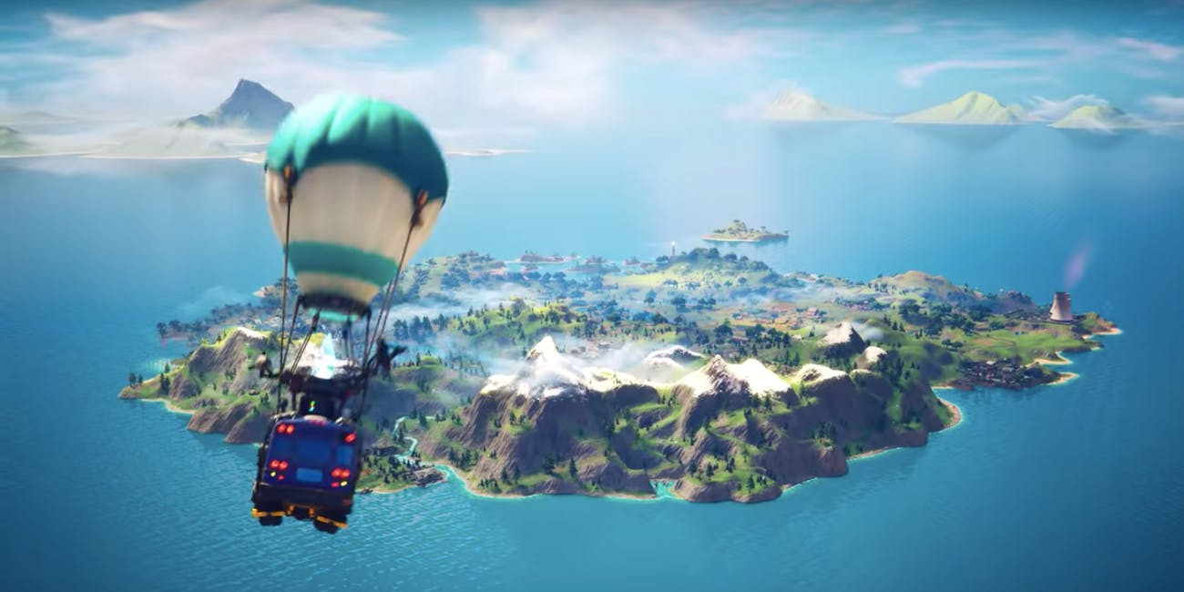 Fortnite Chapter 2 Launch Trailers Huge In Game Twist Is