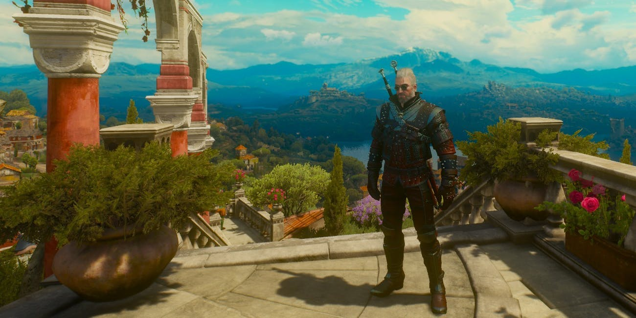 witcher 3 sign intensity on weapons