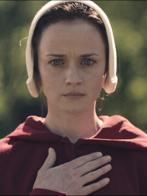 Alexis Bledel in Hulu's 'The Handmaid's Tale'