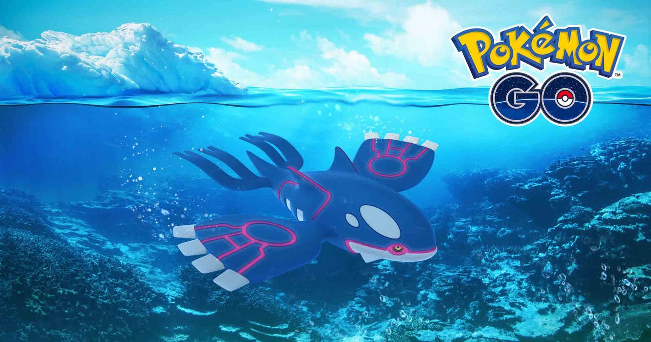 Kyogre, the Legendary Water Pokémon from the Hoenn region recently found its way into 'Pokémon GO'.