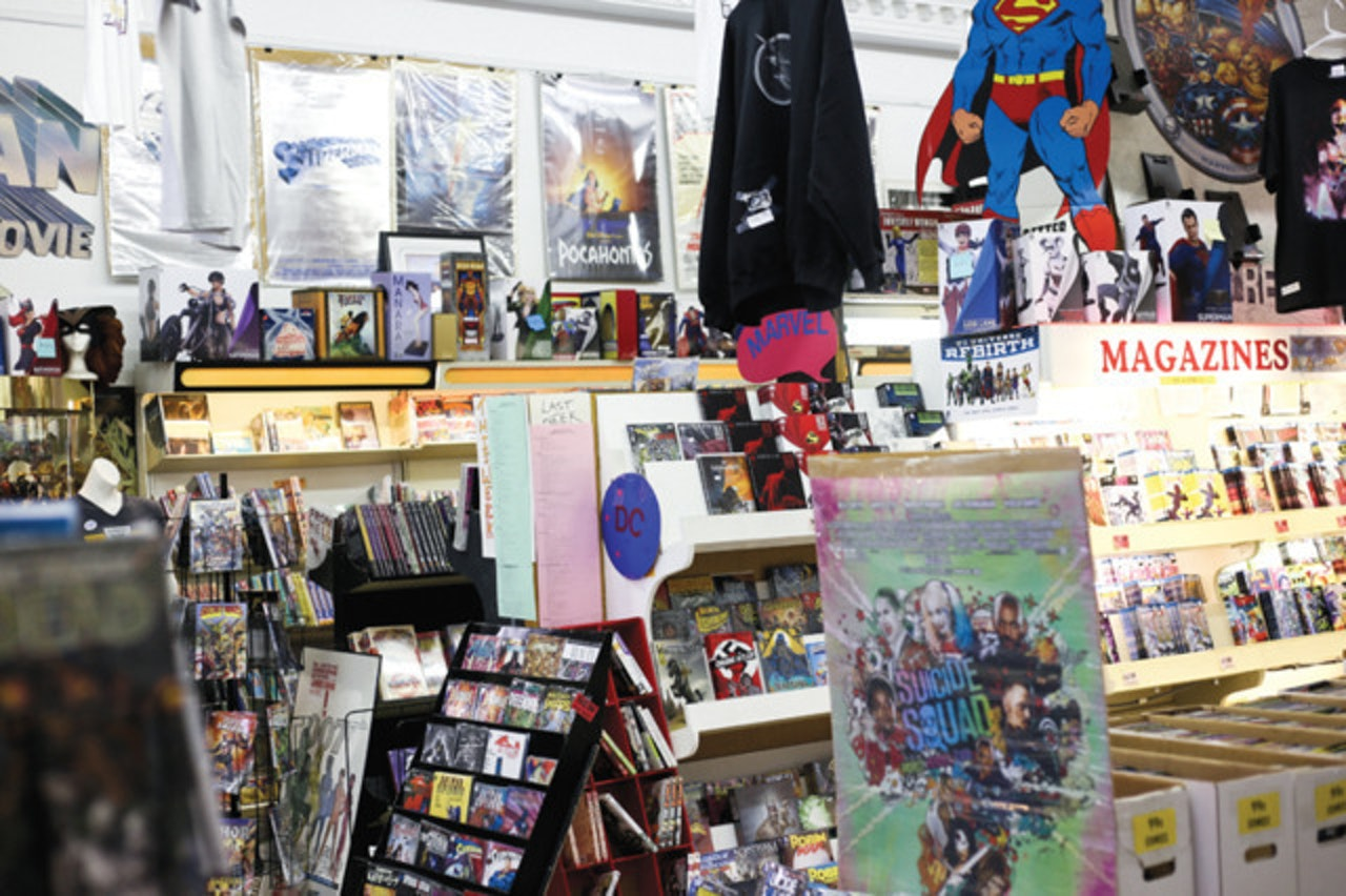 Clint's Comics in Kansas City
