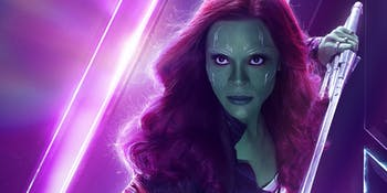 Gamora Marvel Infinity War