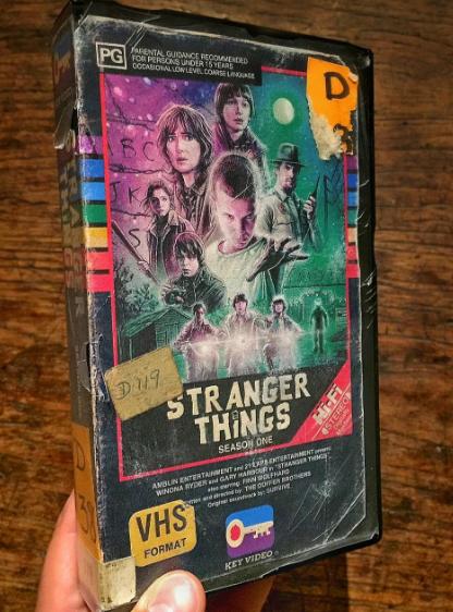Steelburg's 'Stranger Things' VHS