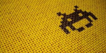 Space Invader tile