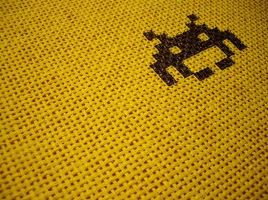 Space Invader tile