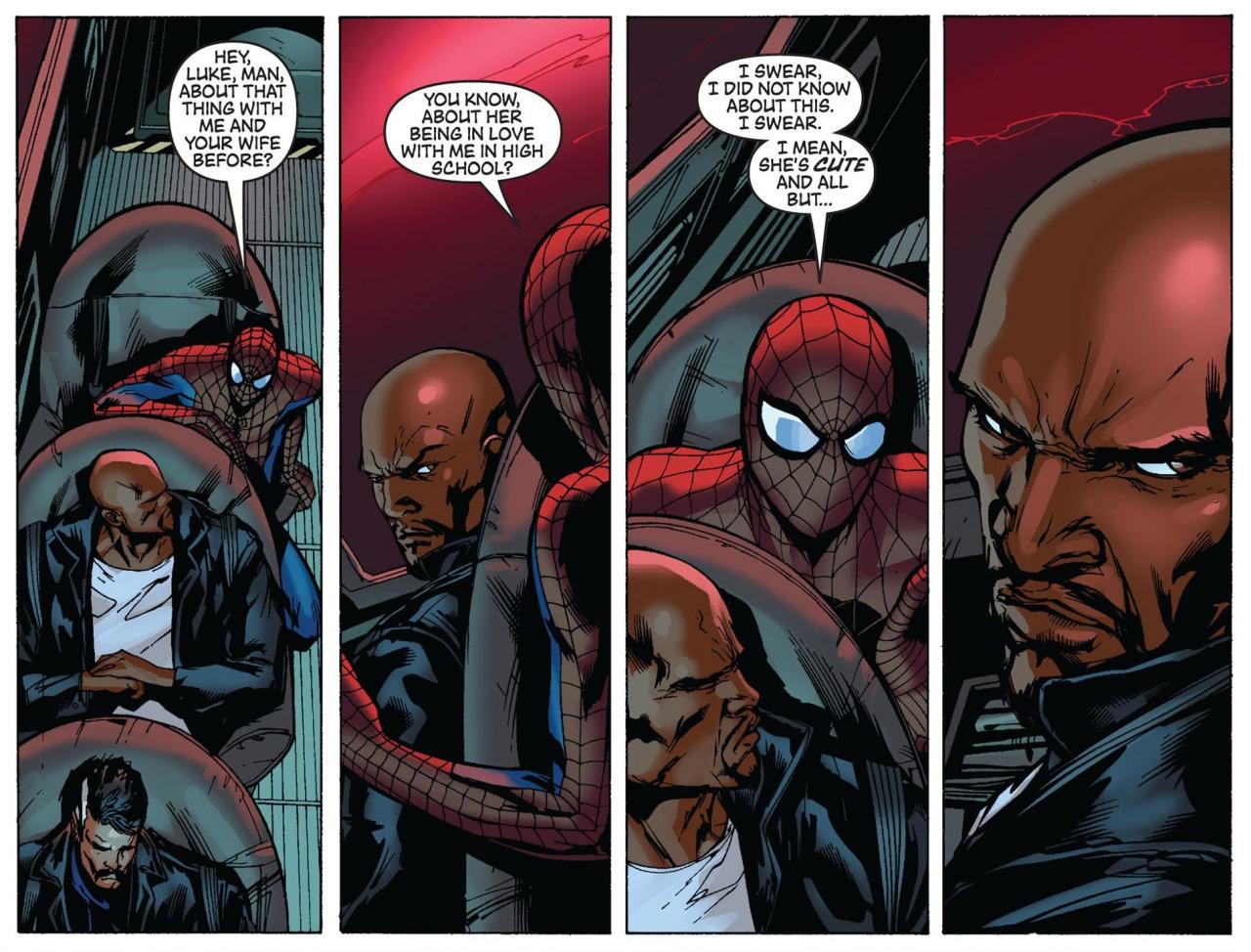 Spider-Man Luke Cage The New Avengers