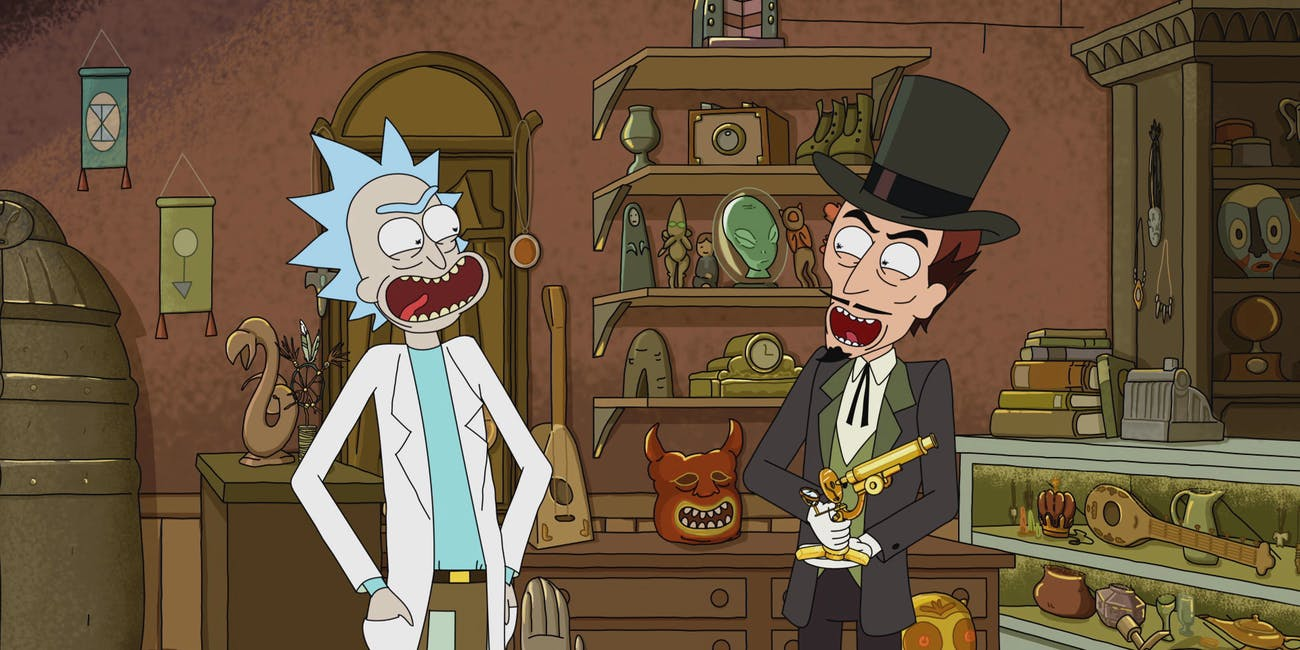 Rick and the Devil become competitors.