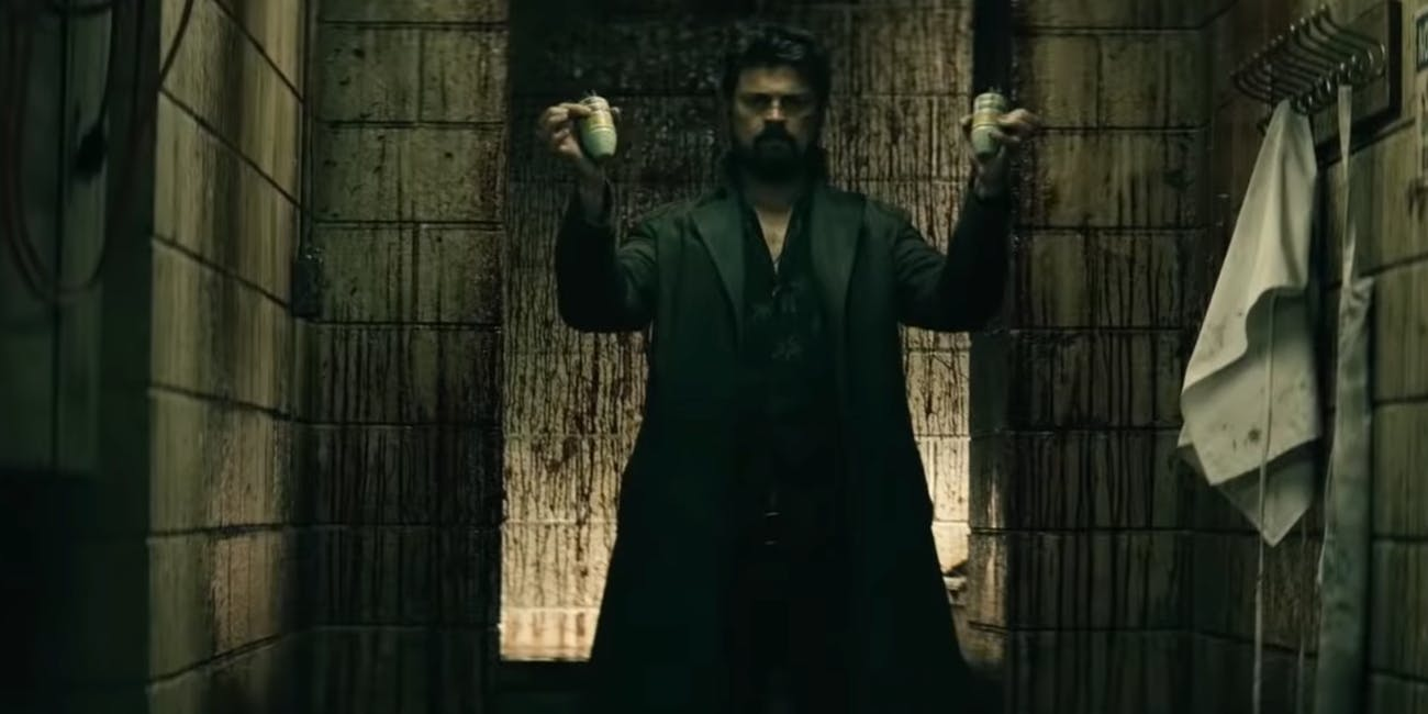 Billy Butcher (Karl Urban) in Amazon's 'The Boys'