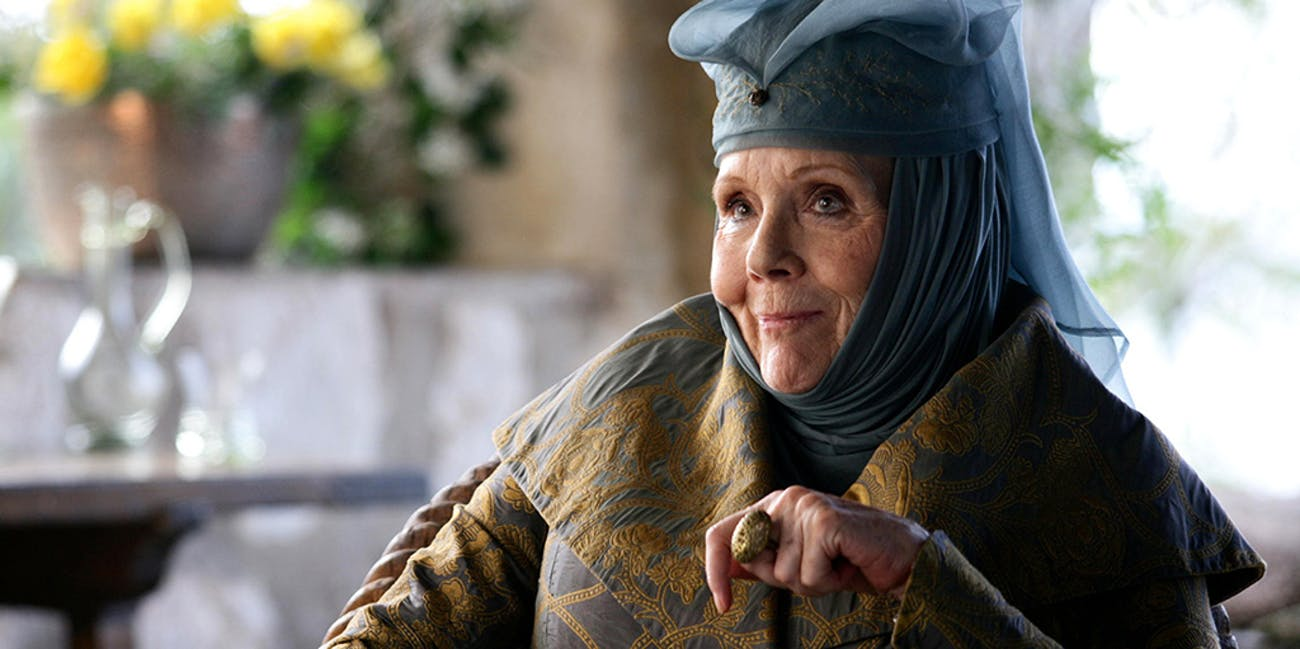 olenna tyrell queen of thorns highgarden the reach poison