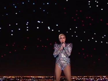 Here's How Intel Drones Nearly Stole the Show From Lady Gaga