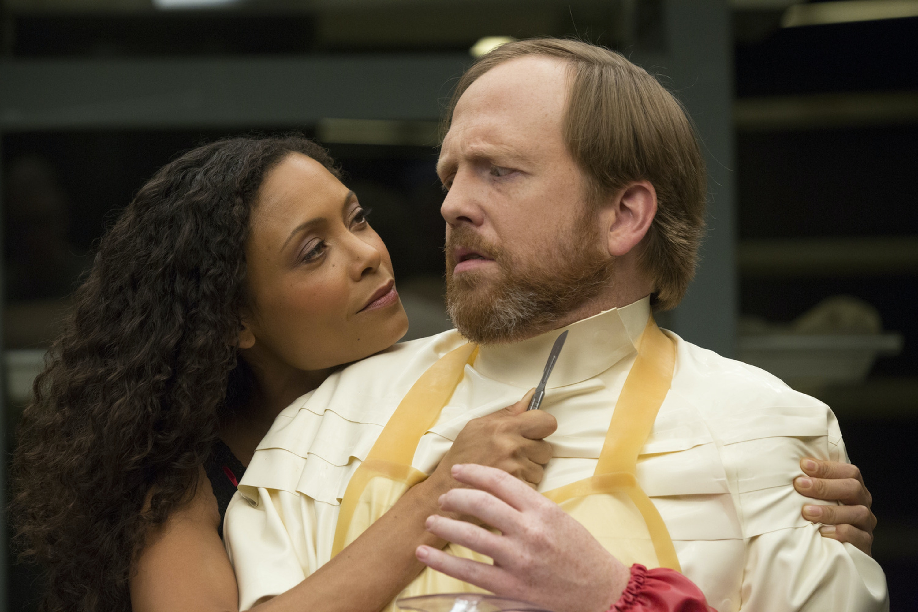 """Thandie Newton as Maeve in """"The Adversary"""""""