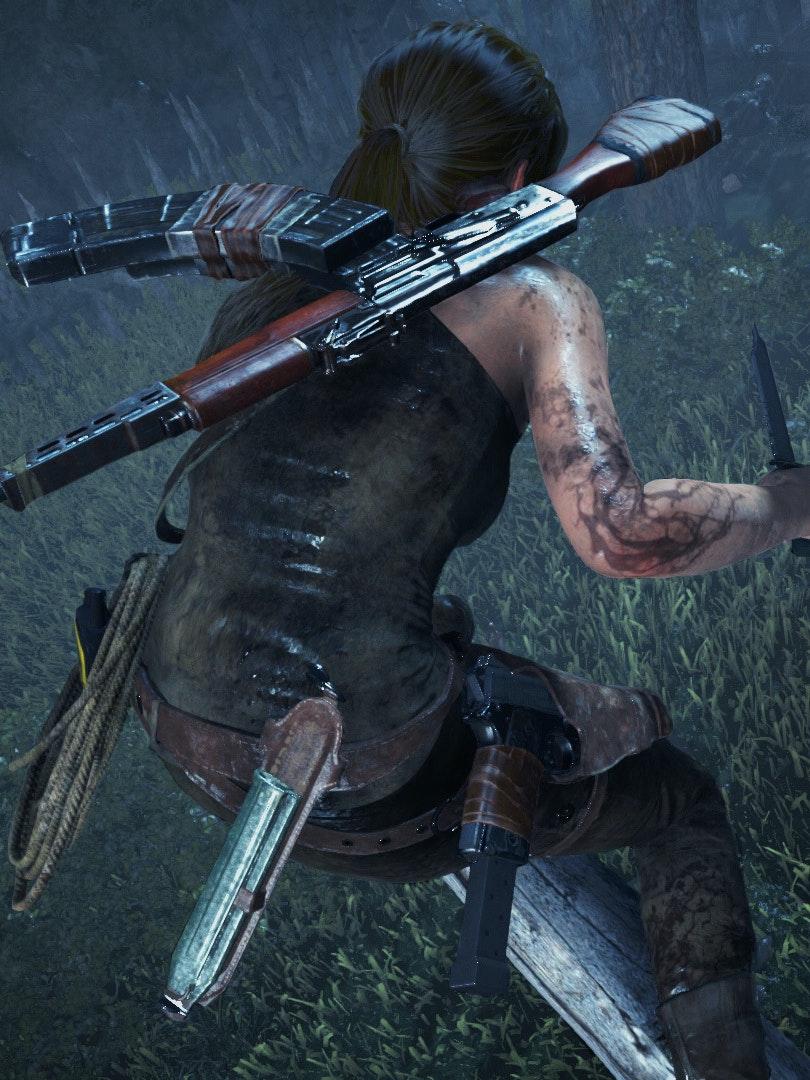 Lara Croft Rise of the Tomb Raider Blood Ties