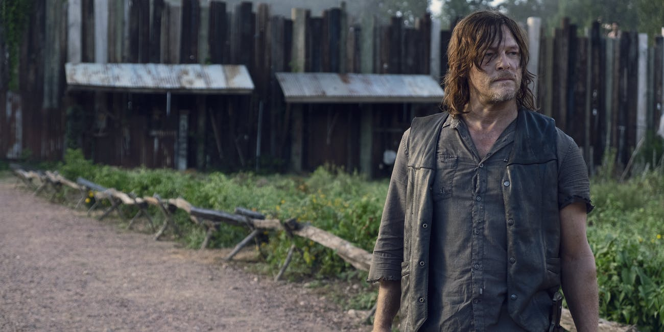 the walking dead season 9 episode 11 daryl dixon norman reedus alpha whisperers